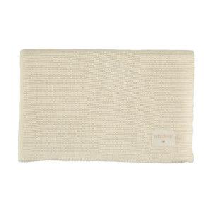nobodinoz knitted blanket natural