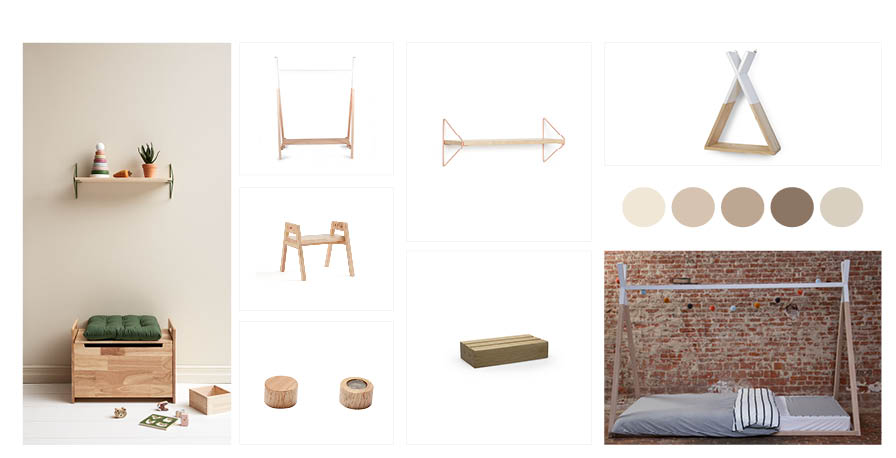 MOODBOARD INTO THE WOODS 430 X 220