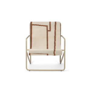 Ferm Living Desert chair cashmere shape voor