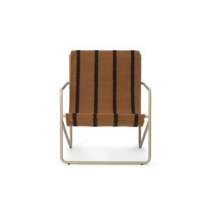 Ferm Living Desert chair cashmere stripe voor