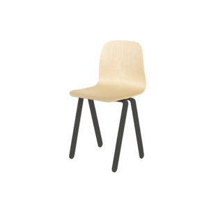 IN2WOODS KIDS CHAIR LARGE BLACK
