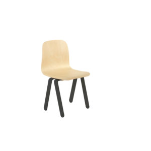 IN2WOODS KIDS CHAIR SMALL BLACK