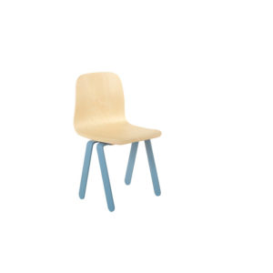 IN2WOODS KIDS CHAIR SMALL BLUE