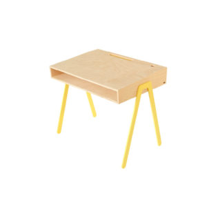 IN2WOODS KIDS DESK LARGE YELLOW