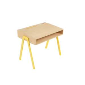 IN2WOODS KIDS DESK SMALL YELLOW