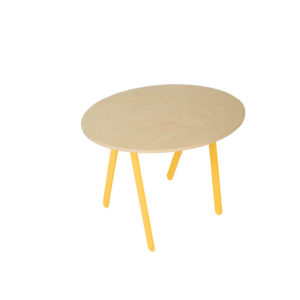 IN2WOODS PLAYINGTABLE YELLOW