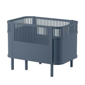 Sebra baby & junior bed blauw