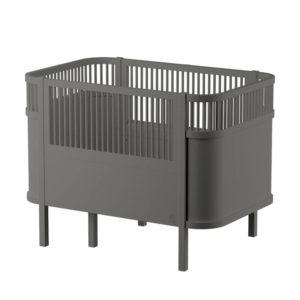 Sebra baby & junior bed grijs