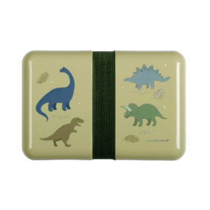 A LITTLE LOVELY COMPANY LUNCHBOX DINO