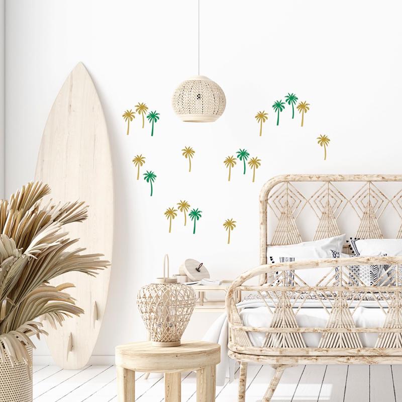 Palmboom muurstickers van Pöm