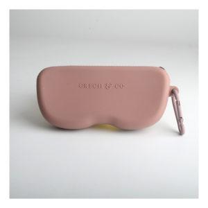 Roze brillenetui van Grech & Co