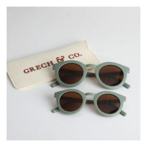 Groene zonnebril van Grech & Co