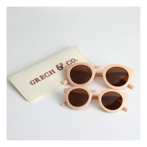 Licht roze zonnebril van Grech & Co