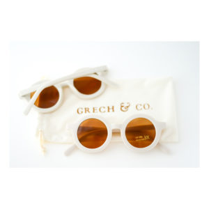 Witte kinderzonnebril van Grech & Co