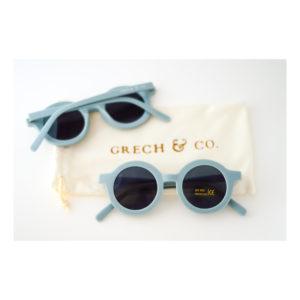 Blauwe kinderzonnebril van Grech & Co
