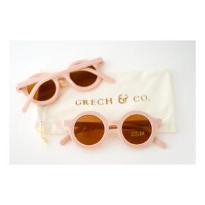 Roze kinderzonnebril van Grech & Co