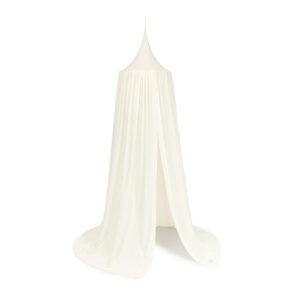 Witte klamboe met kantdetail van Nobodinoz