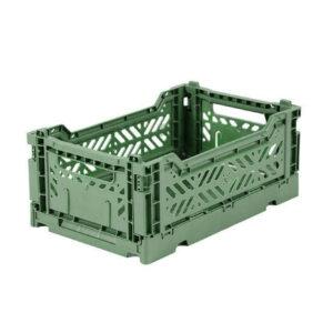 AYKASA MINIBOX ALMOND GREEN